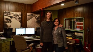 Nashville based singer songwriter Shantell Ogden in my recording studio